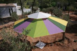 parasoll ljus&comfort flerfärgad